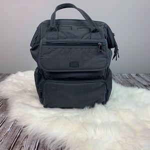 Lug crinkled diaper travel bag
